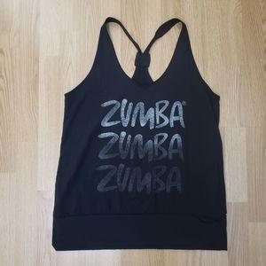 2/20$😜 ZUMBA Black Tank Top Size XL/XXL